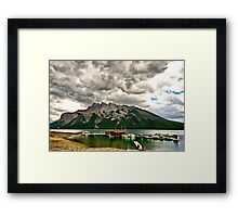 Minnewanka Lake, Banff NP Framed Print