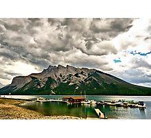 Minnewanka Lake, Banff NP Photographic Print