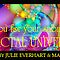 Fractal Universe Spring Thank You Banner by Julie Everhart