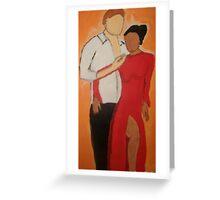 Tango With Me Greeting Card