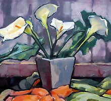 Lilies by Roz McQuillan