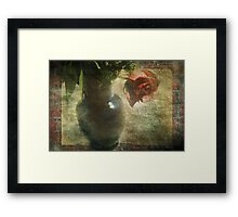 With Time Framed Print