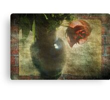 With Time Canvas Print