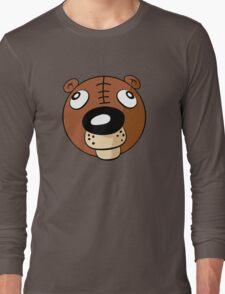 T-Bear's Head Shot Long Sleeve T-Shirt