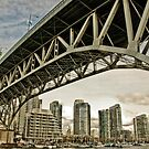 Granville Bridge by Wanda Dumas
