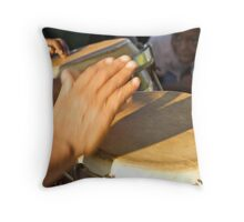 A Child Enchanted By Music Throw Pillow