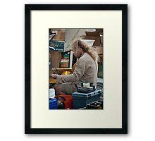 Tuning Framed Print