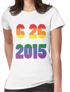 6 26 2015 Womens Fitted T-Shirt