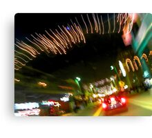 Ybor City at Night Canvas Print