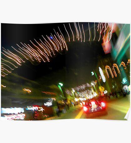Ybor City at Night Poster