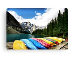 Moraine Lake, Banff Nat. Park Canvas Print