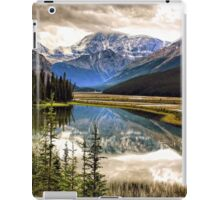 Along the Icefield Parkway, Jasper NP iPad Case/Skin