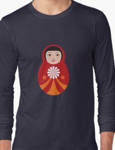 My sweet little babushka doll Long Sleeve T-Shirt