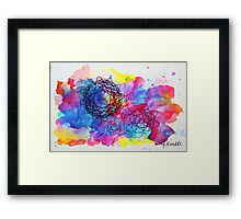 Spiro Galaxy Framed Print