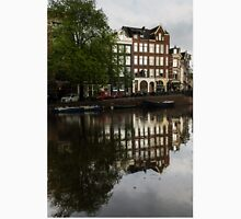 Amsterdam Canal Houses in the Rain Unisex T-Shirt