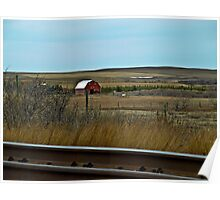 Spring On The Prairie Poster