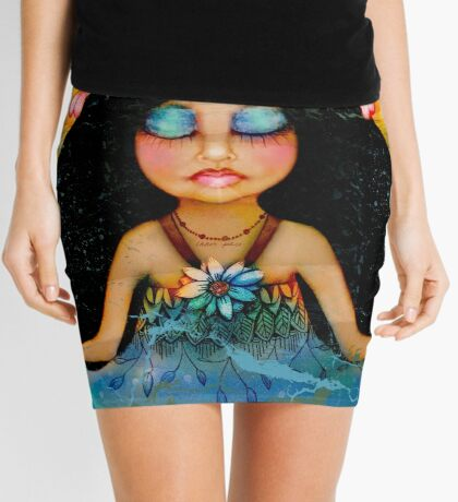 inner peace Mini Skirt