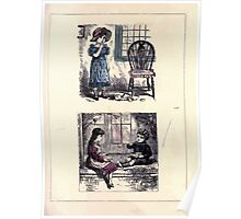 The Little Folks Painting book by George Weatherly and Kate Greenaway 0113 Poster