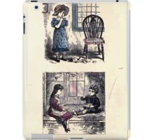 The Little Folks Painting book by George Weatherly and Kate Greenaway 0113 iPad Case/Skin