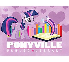 Ponyville Public Library Photographic Print