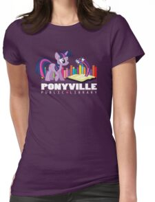 Ponyville Public Library Womens Fitted T-Shirt