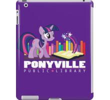 Ponyville Public Library iPad Case/Skin