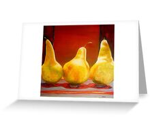 Pears Greeting Card