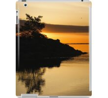 Orange Sunrise iPad Case/Skin