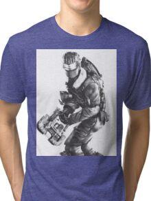 Dead Space 3 Arctic Survival Sketch Tri-blend T-Shirt