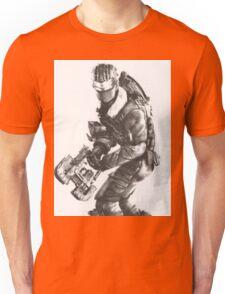 Dead Space 3 Arctic Survival Sketch Unisex T-Shirt