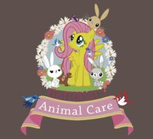 Fluttershy's Animal Care One Piece - Short Sleeve