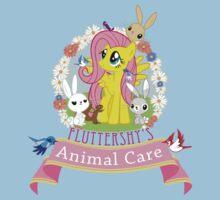 Fluttershy's Animal Care Kids Tee