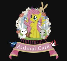 Fluttershy's Animal Care Kids Tee