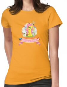 Fluttershy's Animal Care Womens Fitted T-Shirt