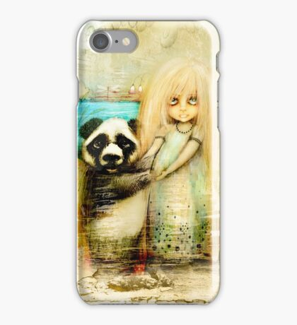 Panda and Snowdrop iPhone Case/Skin