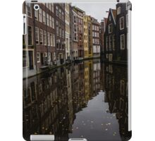 Amsterdam - Serene Fall Reflections iPad Case/Skin