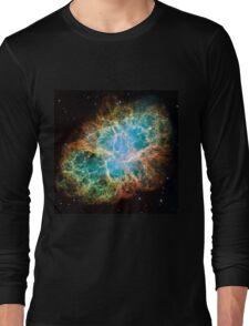 Galaxy Crab Long Sleeve T-Shirt