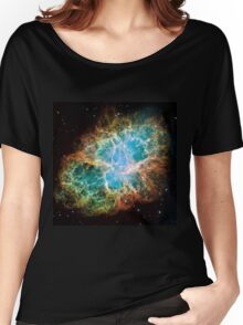 Galaxy Crab Women's Relaxed Fit T-Shirt