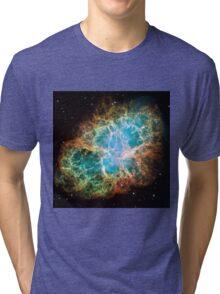 Galaxy Crab Tri-blend T-Shirt