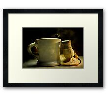 The Shave Framed Print