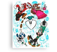 Super Mario USA Canvas Print