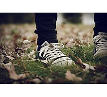 Converse All-Star Photographic Print