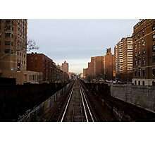 Broadway and 122nd Street Photographic Print