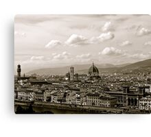 Firenze Forever  Canvas Print