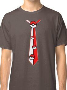 Pokeballs Tie Tee Classic T-Shirt