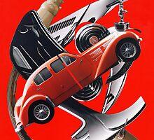 bugatti rouge by michel pepy