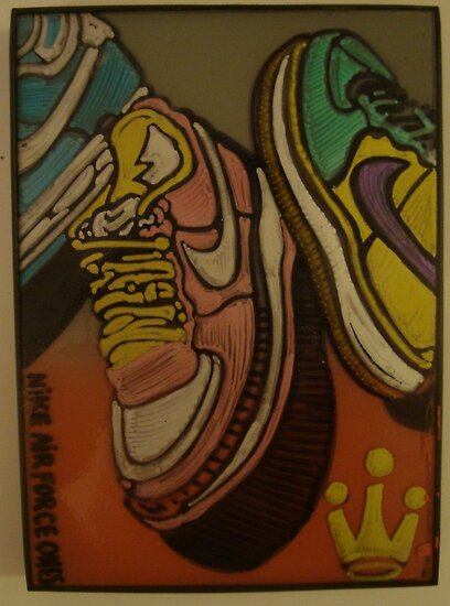 AIR FORCE ONES by SOL  SKETCHES™