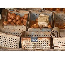 Spuds! Photographic Print