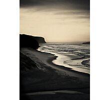 Tomohawk Beach, South Island, New Zealand Photographic Print