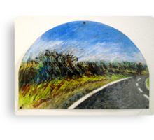 The Distance Between You and I... (panel #1) Metal Print